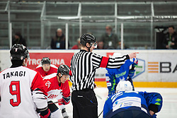 OI pre-qualifications of Group G between Slovenia men's national ice hockey team and Japan men's national ice hockey team, on February 9, 2020 in Ice Arena Podmezakla, Jesenice, Slovenia. Photo by Peter Podobnik / Sportida