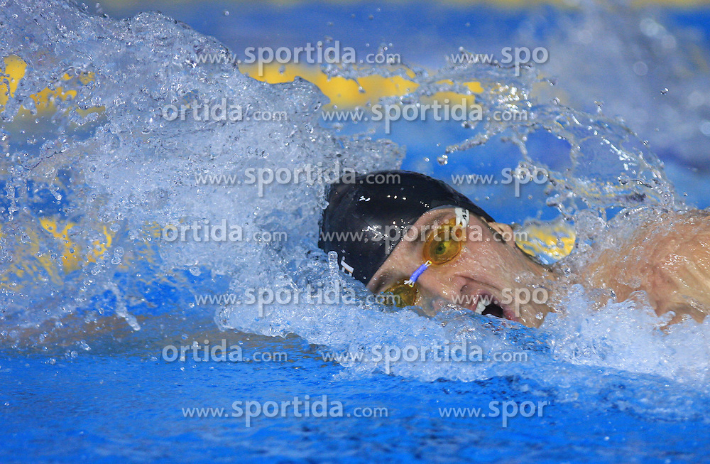 Massimiliano Rosolino of Italy during the men's 200m freestyle final race at day 4 of LEN European Short Course Swimming Championships Rijeka 2008, on December 14, 2008,  in Kantrida pool, Rijeka, Croatia. (Photo by Vid Ponikvar / Sportida)