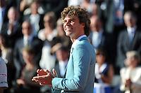 Gustavo KUERTEN  - 07.06.2015 - Jour 15 - Finale  - Roland Garros 2015<br /> Photo : Nolwenn Le Gouic / Icon Sport