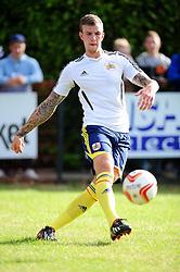 Bristol City's Aden Flint - Photo mandatory by-line: Dougie Allward/JMP - Tel: Mobile: 07966 386802 03/07/2013 - SPORT - FOOTBALL - Bristol -  Ashton and Backwell United V Bristol City - Pre Season Friendly
