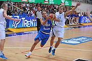 TRENTO, 25/07/2012<br /> TRENTINO BASKET CUP 2012<br /> ITALIA - FINLANDIA<br /> NELLA FOTO: GIUSEPPE POETA<br /> FOTO CIAMILLO