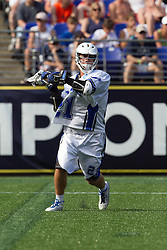 31 May 2010: Duke Blue Devils attackman Zach Howell (21) in a 5-6 win over the Notre Dame Fighting Irish for the NCAA Lacrosse Championship at M&T Bank Stadium in Baltimore, MD.