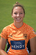 Katie George of Southern Vipers during the Southern Vipers Press Day 2017 at the Ageas Bowl, Southampton, United Kingdom on 31 July 2017. Photo by David Vokes.