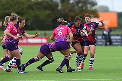 Row Marston of Bristol Bears Women with the ball - Mandatory by-line: Paul Knight/JMP - 28/09/2019 - RUGBY - Shaftesbury Park - Bristol, England - Bristol Bears Women v Loughborough Lightning  - Tyrrells Premier 15s