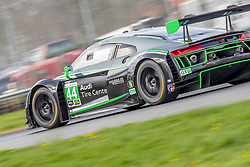 May 4, 2018 - Lexington, Ohio, United States of America - The Magnus Racing Audi R8 LMS GT3 races through the turns at the Acura Sports Car Challenge at Mid Ohio Sports Car Course in Lexington, Ohio. (Credit Image: © Walter G Arce Sr Asp Inc/ASP via ZUMA Wire)