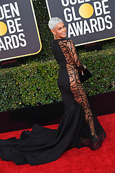 January 6, 2019 - Beverly Hills, California, U.S. - SIBLEY SCOLES during red carpet arrivals for the 76th Annual Golden Globe Awards at The Beverly Hilton Hotel. (Credit Image: © Kevin Sullivan via ZUMA Wire)