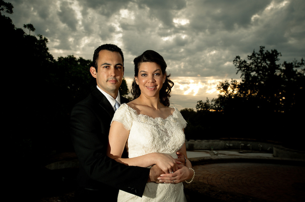 10/9/11 6:49:31 PM -- Zarines Negron and Abelardo Mendez III wedding Sunday, October 9, 2011. Photo©Mark Sobhani Photography