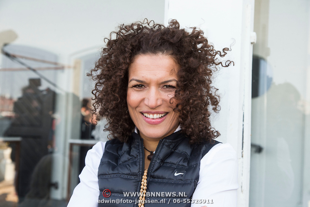 NLD/Amsterdam//20140327 - Perspresentatie Sterren Springen 2014, Lucia Rijker