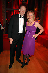 RORY BREMNER and his wife TESSA at a dinner held at the Natural History Museum to celebrate the re-opening of their store at 175-177 New Bond Street, London on 17th October 2007.<br /><br />NON EXCLUSIVE - WORLD RIGHTS