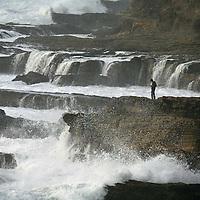 ocean,alone,waves,Montana de Oro,cliffs, bluffs,sea