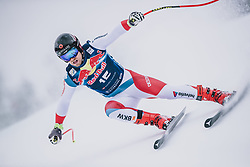 25.01.2020, Streif, Kitzbühel, AUT, FIS Weltcup Ski Alpin, Abfahrt, Herren, im Bild Mauro Caviezel (SUI) // Mauro Caviezel of Switzerland in action during his run for the men's downhill of FIS Ski Alpine World Cup at the Streif in Kitzbühel, Austria on 2020/01/25. EXPA Pictures © 2020, PhotoCredit: EXPA/ JFK
