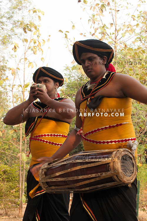 Tradtional Sri Lanka drummers Udawalawe National Park lies on the boundary of Sabaragamuwa and Uva Provinces, in Sri Lanka. The national park was created to provide a sanctuary for wild animals