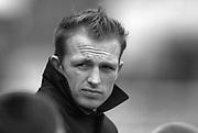 Twickenham. Great Britain. Matt Dawson, during the Zurich Premiership, match Harlequins (Quins) v Northampton Saints  at the Twickenham Stoop. 26/01/02  [Mandatory Credit Peter Spurrier/Intersport Images] ...........