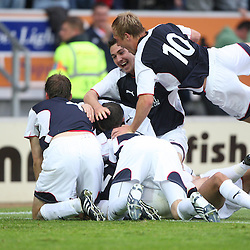 Falkirk v FC Vaduz, Europa League Qualifying, 2009