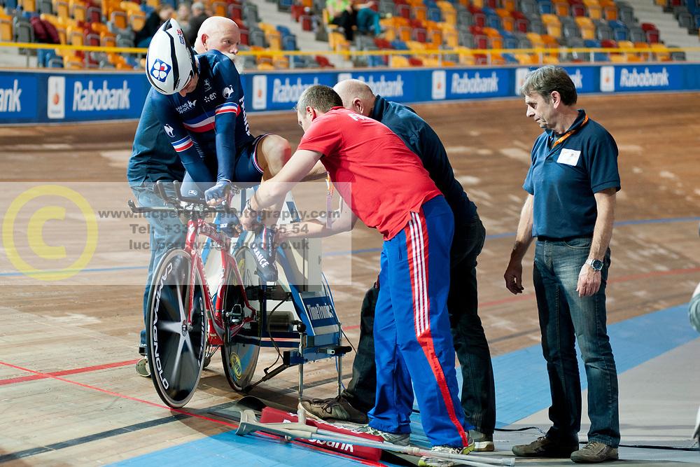 Stephane Bahier, FRA, 1km TT, 2015 UCI Para-Cycling Track World Championships, Apeldoorn, Netherlands
