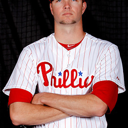 February 22, 2011; Clearwater, FL, USA; Philadelphia Phillies relief pitcher Ryan Madson (46) poses during photo day at Bright House Networks Field. Mandatory Credit: Derick E. Hingle