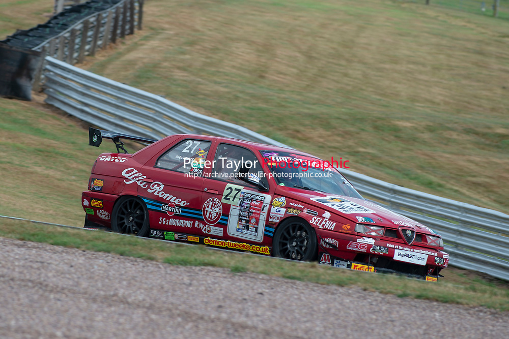 #27 Antonio GIOVINAZZO (SRE) Alfa Romeo 155  during 2018 MSA Time Attack Championship - FastR Clubman / Pocket Rocket / Classic & Retro  as part of the Time Attack - Round 4 - Oulton Park  at Oulton Park, Little Budworth, Cheshire, United Kingdom. July 28 2018. World Copyright Peter Taylor/PSP. Copy of publication required for printed pictures.
