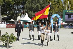 Team Spain<br /> FEI European Jumping Championship -  2011<br /> (c) www.sportfotos-Lafrentz. de/Stefan Lafrentz