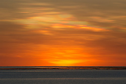 Sunrise over the reef at Adele Island off the Kimberley coast.  Adele Island is surrounded by an extensive reef system.