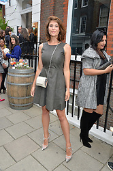 GEMMA ARTERTON at the launch of the new collection from Limoland held at Anderson & Sheppard's Haberdashery, 17 Clifford Street,London on 16th June 2014.
