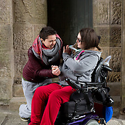 01.03.2017        <br /> Attending the Limerick City and County Patricia Ingle pictured with her Social Care Nurse, Siobhan O'Donovan at Glenstall Abbey, Co. Limerick. Picture: Alan Place