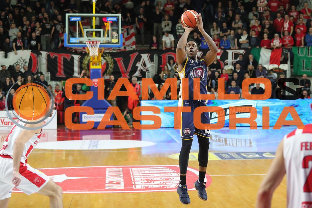 Patterson Lamar<br /> Openjobmetis Varese - Fiat Torino<br /> Lega Basket Serie A 2017/2018<br /> Varese, 14/01/2018<br /> Foto Ciamillo - Castoria