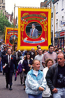 Wistow Branch Banner, Miners Gala Wakefield