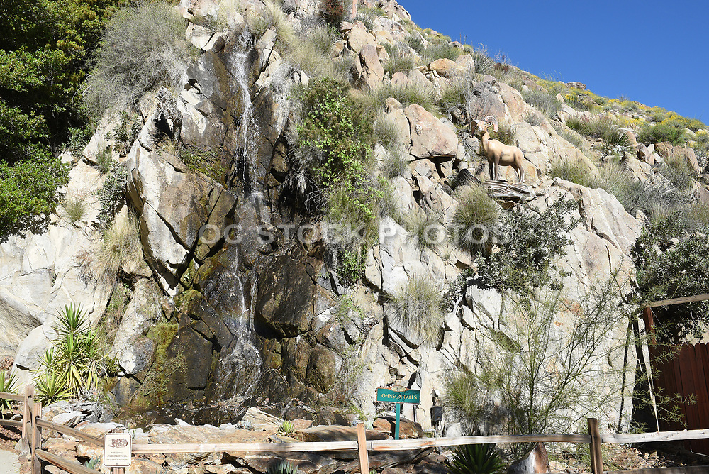Johnson Falls at Palm Springs Aerial Tramway Mountain Station