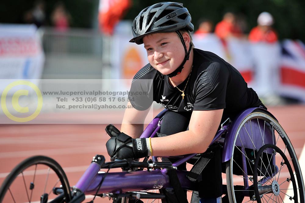 03/08/2017; Studer, Dario, T54, SUI at 2017 World Para Athletics Junior Championships, Nottwil, Switzerland