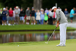 September 8, 2018 - Newtown Square, Pennsylvania, United States - Rickie Fowler putts the 10th green during the third round of the 2018 BMW Championship. (Credit Image: © Debby Wong/ZUMA Wire)