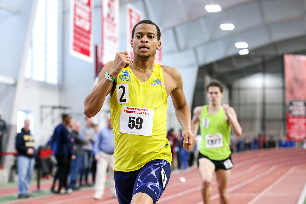 1000, Chrstian Harrison, BAA, adidas<br /> BU John Terrier Classic <br /> Indoor Track & Field Meet <br /> day 2