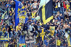 """Foto Filippo Rubin<br /> 26/03/2017 Ferrara (Italia)<br /> Sport Calcio<br /> Spal vs Frosinone - Campionato di calcio Serie B ConTe.it 2016/2017 - Stadio """"Paolo Mazza""""<br /> Nella foto: IL FROSINONE ESULTA<br /> <br /> Photo Filippo Rubin<br /> March 26, 2017 Ferrara (Italy)<br /> Sport Soccer<br /> Spal vs Frosinone - Italian Football Championship League B ConTe.it 2016/2017 - """"Paolo Mazza"""" Stadium <br /> In the pic: FROSINONE CELEBRATE"""