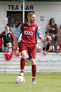 Picture by David Horn/Focus Images Ltd. 07545 970036.04/08/12.Dave Fotheringham of Chesham United  during a friendly match at The Meadow, Chesham.