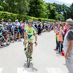 Ivan Basso still very much a crowd favourite.