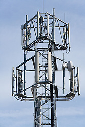 Mobile phone mast,