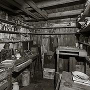 Scott's Cape Evans Hut #9, Ponting's Darkroom