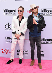 Musicians Tyler Hubbard (R) and Brian Kelley of Florida Georgia Line at 2017 Billboard Music Awards held at T-Mobile Arena on May 21, 2017 in Las Vegas, NV, USA (Photo by Jason Ogulnik) *** Please Use Credit from Credit Field ***
