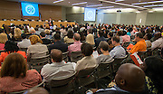 Dr. Andrew Houlihan comments during a Principal meeting, June 11, 2014.