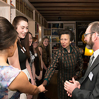 The Princess Royal Visits The Royal Geographical Society (RSGS) in Perth...15.09.15<br /> The Princess Royal tours Lord John Murray House in Perth, home to the Royal Scottish Geographical Society and is introduced to Polar Academy team members by Mr Craig Mathieson Explorer in Residence, RSGS and founder The Polar Academy<br /> for further info please contact Gemma McDonald RSGS Comms Officer on 01738 646141 or 07867 524072<br /> Picture by Graeme Hart.<br /> Copyright Perthshire Picture Agency<br /> Tel: 01738 623350  Mobile: 07990 594431