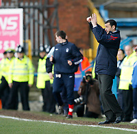 Forest Manager Colin Calderwood gives instructions at Chesterfield