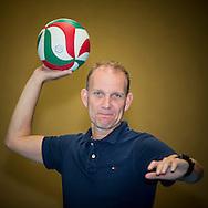 AMERSFOORT, portret van volleybaltrainer Hans Seubring van VCV Veenendaal, 28-06-2016, Fit Academie De Bokkeduinen.