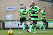 Forest Green Legends Steve Winter during the Trevor Horsley Memorial Match held at the New Lawn, Forest Green, United Kingdom on 19 May 2019.
