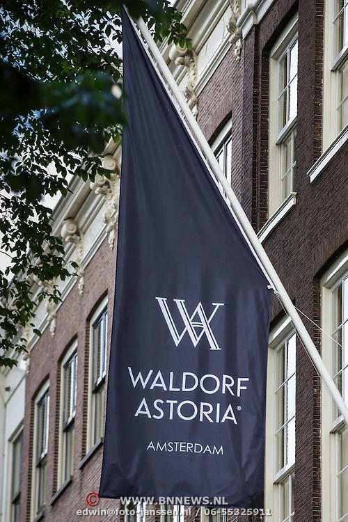 NLD/Amsterdam/20140625 - Opening Waldorf Astoria hotel Amsterdam,