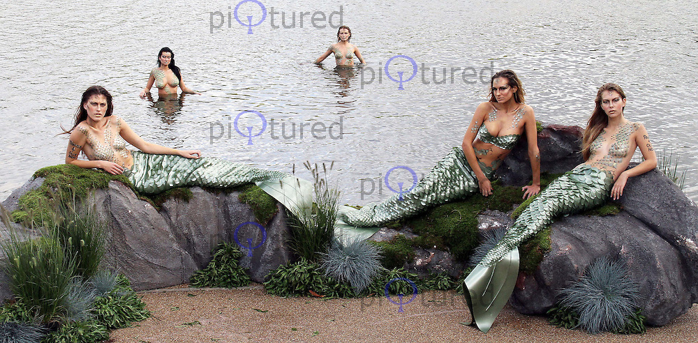 To celebrate the release of Pirates of the Caribbean On Stranger Tides on Disney 3D Blu-ray, Double Play and DVD, The Sea Life London Aquarium & Hyde Park Serpentine played host to some Mermaids. Contact: Rich@Piqtured.com +44(0)7941 079620 (Picture by piQtured)