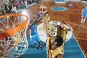 DESCRIZIONE : Porto San Giorgio Lega A1 2007-08 Premiata Montegranaro Eldo Napoli <br /> GIOCATORE : Sharrod Ford Jumaine Jones <br /> SQUADRA : Premiata Montegranaro <br /> EVENTO : Campionato Lega A1 2007-2008 <br /> GARA : Premiata Montegranaro Eldo Napoli <br /> DATA : 23/02/2008 <br /> CATEGORIA : Rimbalzo Special <br /> SPORT : Pallacanestro <br /> AUTORE : Agenzia Ciamillo-Castoria/G.Ciamillo