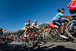 Simon Spilak of Slovenia during the Men Elite Road Race at 258.5km Race from Kufstein to Innsbruck 582m at the 91st UCI Road World Championships 2018 / RR / RWC / on September 30, 2018 in Innsbruck, Austria. Photo by Vid Ponikvar / Sportida
