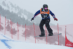 GABEL Keith, Snowboarder Cross, 2015 IPC Snowboarding World Championships, La Molina, Spain