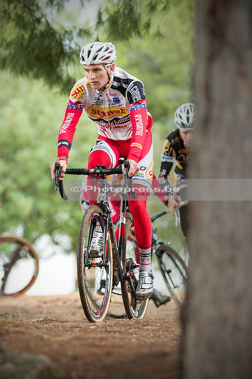 SPAIN / SPANJE / CYCLING / WIELRENNEN / CYCLISME / CYCLOCROSS / VELDRIJDEN / WINTERSTAGE / TRAINING CAMP / SUNWEB - NAPOLEON GAMES CYCLING TEAM / CROSSTRAINING / JIM AERNOUTS /