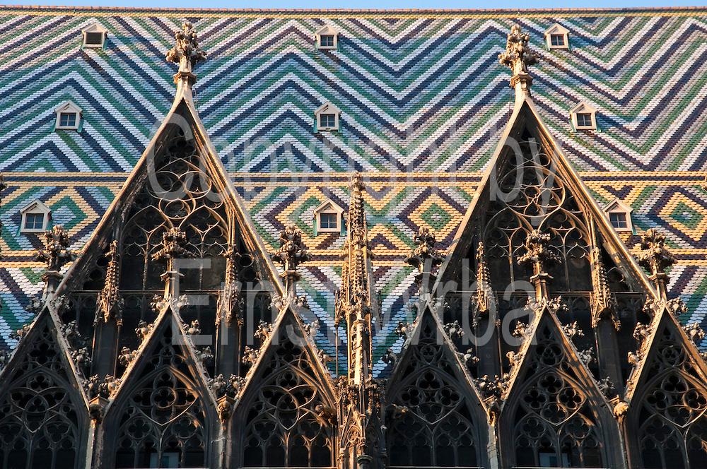Stephansdom, Wien, Österreich.|.St. Stephen's Cathedral, Vienna, Austria