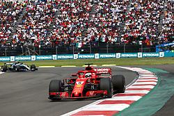 October 28, 2018 - Mexico-City, Mexico - Motorsports: FIA Formula One World Championship 2018, Grand Prix of Mexico, ..#5 Sebastian Vettel (GER, Scuderia Ferrari) (Credit Image: © Hoch Zwei via ZUMA Wire)